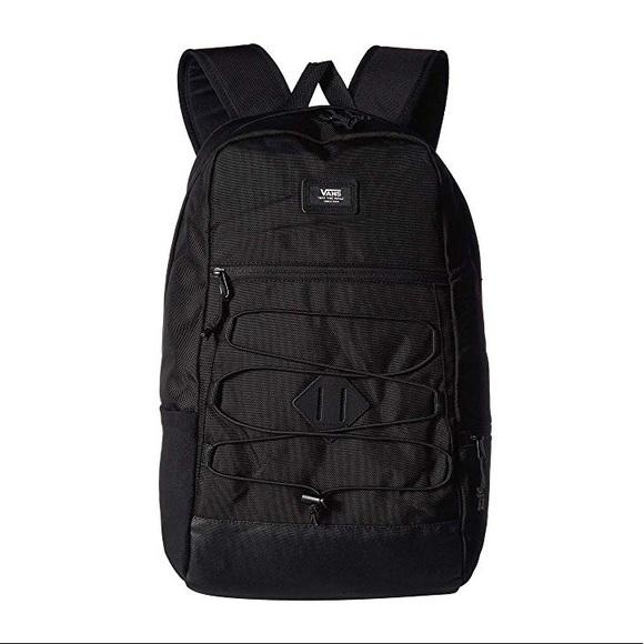 Vans Handbags - Vans Backpack Black